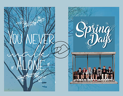 What if the BTS Spring Day clip was a poster?!
