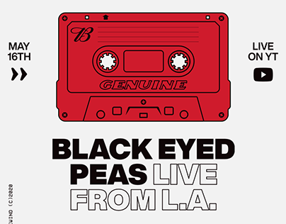 Budweiser Rewind Live Black Eyed Peas