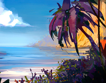 Landscape Sketches 01