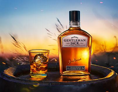 Whiskey Jack Daniels Getleman Jack.