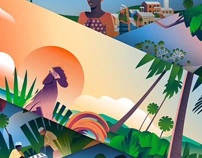 Fresque Mayotte