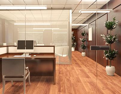 stadium office interior design