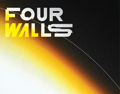 """John Cage's """"Four Walls"""" Music Poster"""