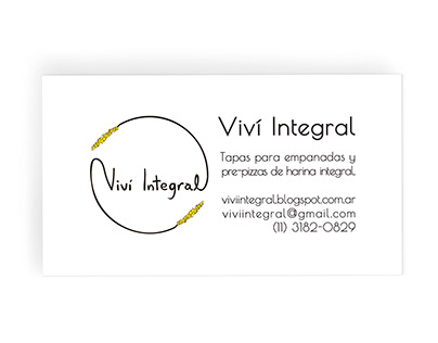 Viví Intergral Business Card