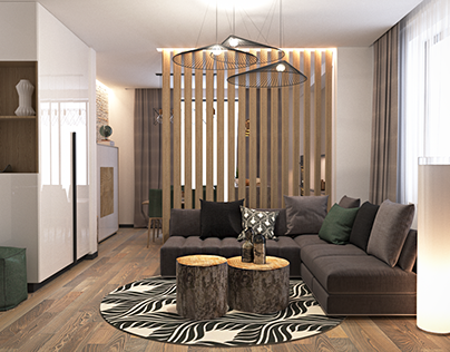 Loft style apartment, Poland, Wroclaw