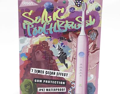 [Intern] Desen Electric Toothbrush Packaging Design