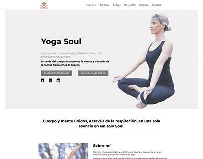 Diseño Web: YogaSoul.es