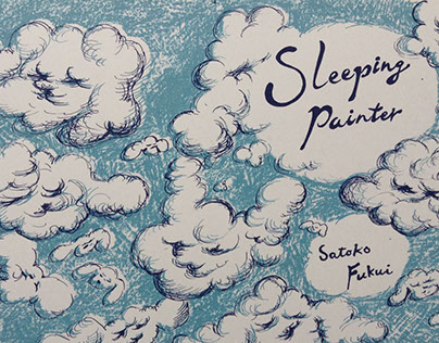 No character magazine -Sleeping painter-