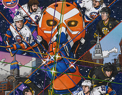 NY Islanders Game Day Poster Series