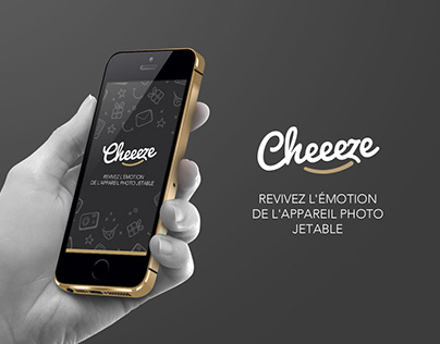 Cheeeze - Retro photo app