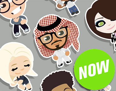 Kawaii Stickers and Badges for YouNow Vol. I