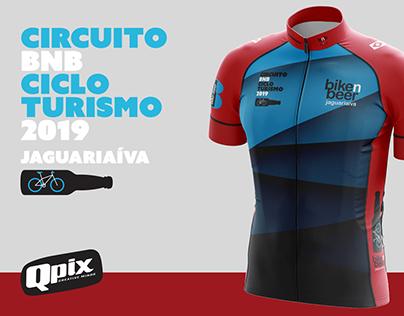 Jersey para evento de cicloturismo BnB Jaguariaíva