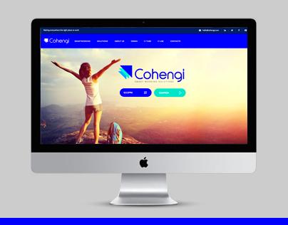 Cohengi SmartWorking / Web Site / Design & Development