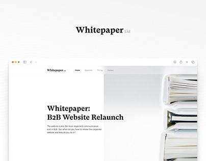Whitepaper - B2B Digital Book