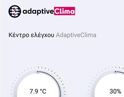 adaptiveClima | App Design