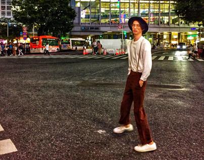 Night in Shibuya