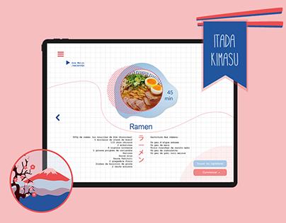 Application Cuisine et Histoire Japonaise | ITADAKIMASU