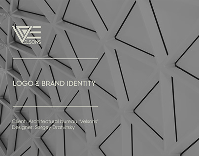 Logo and Brand identity for the architectural bureau