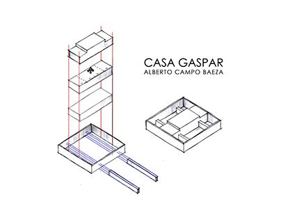 ANÁLISE: CASA GASPAR - ALBERTO CAMPO BAEZA (1992)