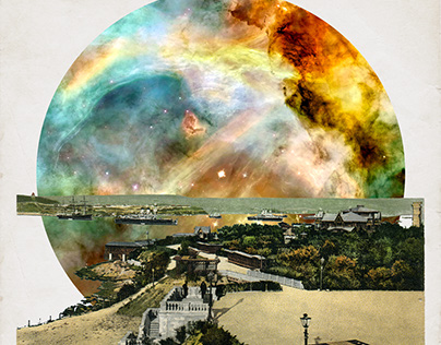 Spacescape collages