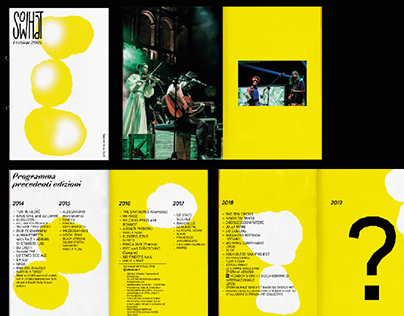 So What Festival report 2014-2018. Design and layout