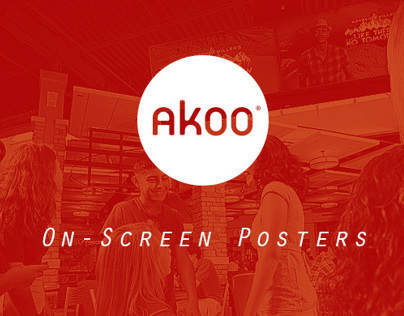 Akoo On-Screen Posters