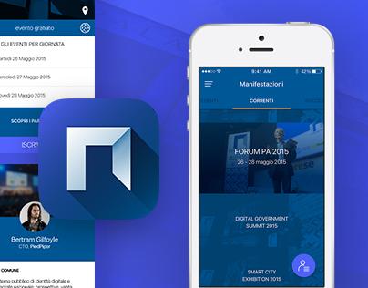 FPA NET App UX UI