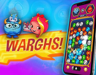 Game Screenshot and Promotional Assets Design