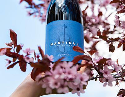Martinus Wines - Wine label design