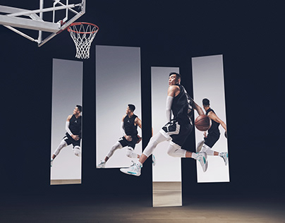 Air Jordan with Ailun Guo