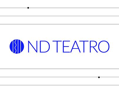 Diseño de marca - Teatro ND