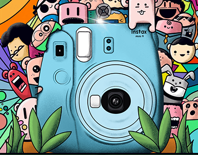 Doodle Art for Instax India Doodle Challenge