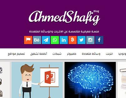 Ahmed Shafig Blog