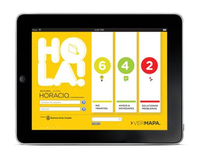 BUEN DÍA app. UADE 2011.