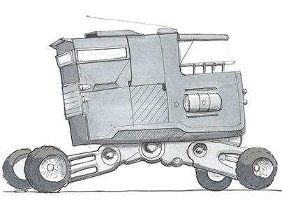 Transportation sketches & renders