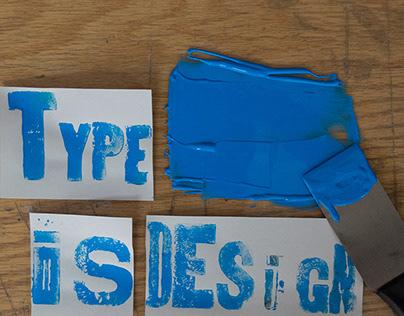 Type is Design