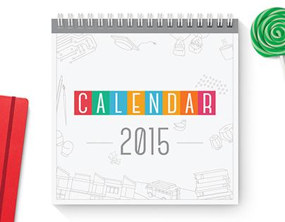 Doodle Calendar 2015