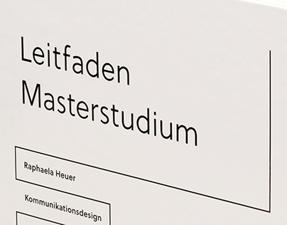 Folder system at the beginning of my Master's programme