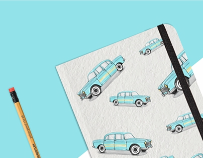 Taxistand Note book pattern