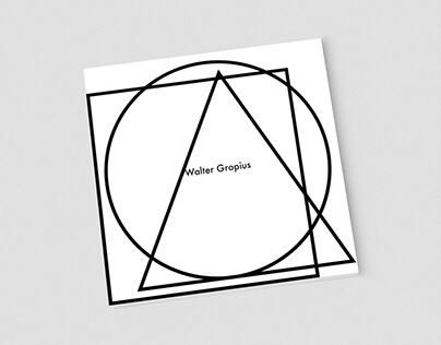 Walter Gropius Booklet