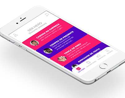 Pitch, Business, UX UI, Prototype, Research... [B-Hero]