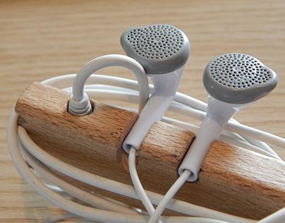 Earphones Organizer - Cord & Earbuds Holder