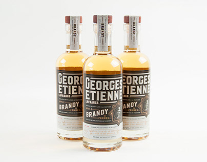 Georges Étienne Lafrance Brandy packaging