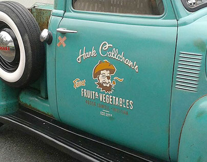 Logo Hank Callahan's Finest Fruit & Vegetables
