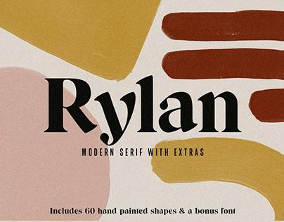Rylan | Modern Serif w/ Free Extras
