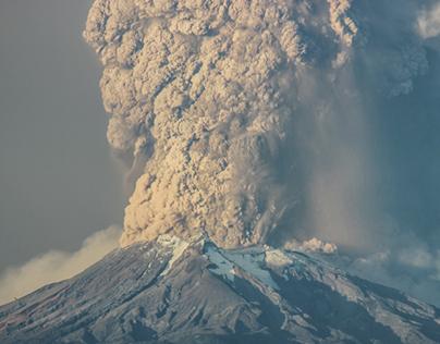 Erupción Volcán Calbuco / Desde Puerto Montt Chile