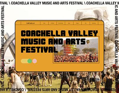Coachella — redesign concept