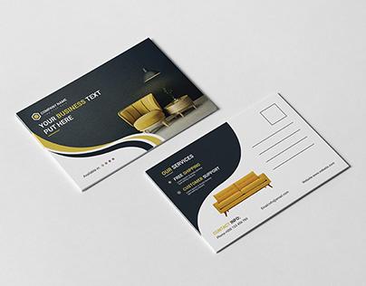 Multiple Post Card Template Design