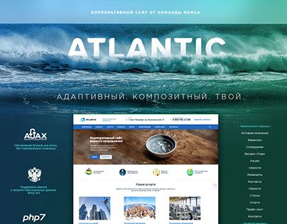 Atlantic - e-commerce template for 1C Bitrix