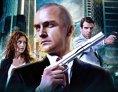 Hitman Absolution Projects Photos Videos Logos Illustrations And Branding On Behance